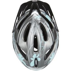 UVEX onyx Helm Damen dark silver-light blue